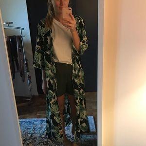 Rachel Zoe palm kimono